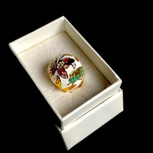 NWOT butterfly ring, size 7